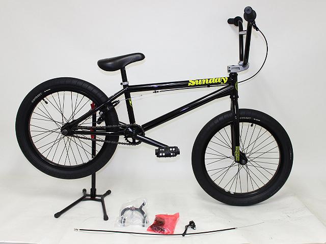 """Sunday サンデー 2015 AM Bike 21"""" Blackj BMX"""